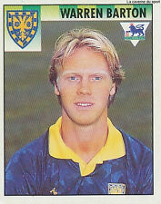 N°512 WARREN BARTON WIMBLEDON.FC PREMIER LEAGUE 1995 STICKER MERLIN ENGLAND