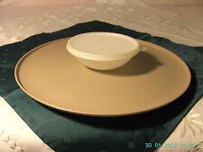 Tupper Dip N Serve Servierplatte 35 cm und Schüssel mit Deckel Tupperware