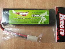 HIMOTO Pacco batteria da sc 5000 mAh 7,2V attacco tamiya codice 5000MAH NUOVA