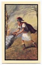 Saint Florian Firefighter's Prayer Holy Card