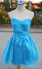 NWT MASQUERADE Turquoise Party Cocktail Dress 11
