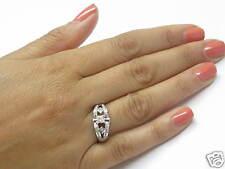 Fine Princess Cut Engagement Diamond White Gold Ring 14KT 1.30Ct