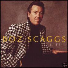 BOZ SCAGGS - HITS CD ~ LIDO SHUFFLE~WHAT CAN I SAY~SLOW DANCER~LOWDOWN +++ *NEW*