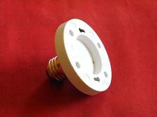 2 x Adapter E27 auf GX53 für Leuchtmittel Glühlampen LED Halogenlampen usw. NEU