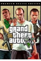 GTA 5  PC Grand Theft Auto V Premium Online Edition ROCKSTAR [KEY ONLY!] GLOBAL