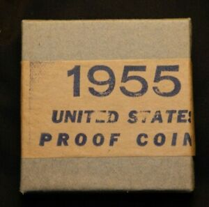 1955 UNITED STATES PROOF SET - SEALED - BOX IN GREAT CONDITION