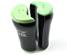 COCA-COLA USA Coke verre forme sel et poivrières sel salière / poivrière