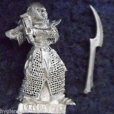 2001 Dark Elf Har Garneth Executioner 4 Citadel Evil Elven Army Drow Warhammer