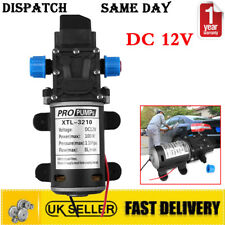 DC 12V High Pressure Wash 100W Water Pump Kit Marine Deck Car Campervan Sprayer