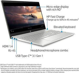 "🔥HP Pavilion 15"" Laptop Micro-EDGE Touchscreen I5-8265U  8 GB RAM 256 GB SSD🔥"