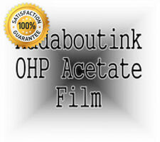 A4 OHP Acetate Transparency Film For Inkjet Printers 20 Sheets