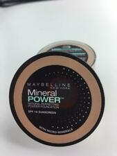 x2 Maybelline Mineral Power Powder Foundation Travel Size Pure Beige Medium