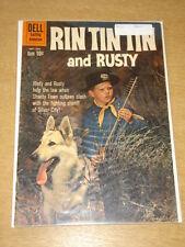 RIN TIN TIN AND RUSTY #36 VG+ (4.5) DELL COMICS NOVEMBER 1960