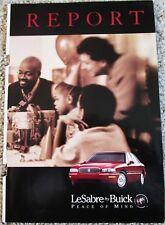 1998 Buick LeSabre 4 dr sedan car ad