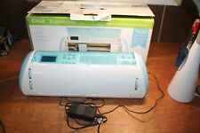 CRICUT CREX001 Expression Cutting Machine w/ Power Adapter TESTED NO CARTRIDGES