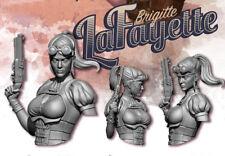 Brigitte LaFayette | Bust | RESIN KIT 1/12 | Free Shipping Worldwide | 243