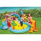 Inflatable Pool Slide Fun Toys Kids Baby Intex Swim Water Play Center Dinoland
