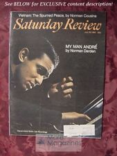 Saturday Review July 26 1969 ANDRE WATTS NORMAN DARDEN PETER BARTON