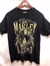 Bob Marley - Rebel Legend T-Shirt Black Jamaica Collection Size M