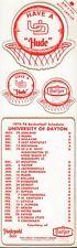 1975-76 University Of Dayton Basketball Schedule 101717jh