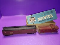 AS IS HO Scale Walthers PRR Pennsylvania Express Reefer #2912 and MANTUA CABOOSE