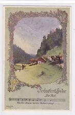 Künstler Ak Elsner, SCHUBERT Lieder, Die Post, Franz Schubert,