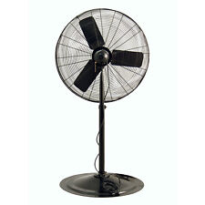 "Air King 9135 30"" 1/4 HP Oscillating Industrial Grade Pedestal Mount Fan"