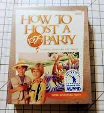 How to Host a KIDS Party: Safari AdventureParty  (1999) Party for 12 / New