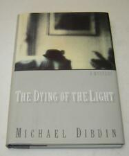 """MICHAEL DIBDIN """"THE DYING OF THE LIGHT"""" 1st AMERICAN EDITION GREAT CONDITION"""