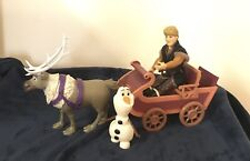 Disney Frozen 2 Sledding Adventures Hasbro, Kristoff, Sven + Sled + Olaf Figures