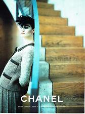 Publicité Advertising 078  1996   Chanel  haute couture