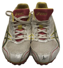Asics Womens Track Shoes Metal Spikes G954N Size 7.5