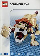Prospekt Katalog Lego Sortiment 2005 Spielzeugkatalog Spielzeug Broschüre toys