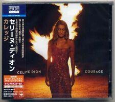 """CELINE DION """"Courage"""" JAPAN BLU SPEC CD2 +1 Bonus Track *SEALED*"""