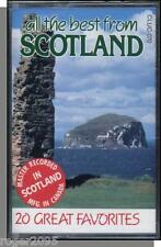 All The Best From Scotland - 20 Great Favorites! New Easy Listening Cassette!