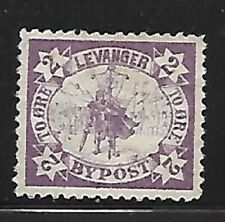 Norway: Local post Levanger (city), MNG, T1 ore, violet, EBNO03