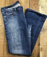 Citizens of Humanity Kelly #001 Low Waist Boot Med Wash Jeans Size 31x29x8""