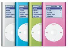 Apple iPod Mini 2nd Generation 4Gb (A1051 - 2044) - Silver / Blue / Green / Pink