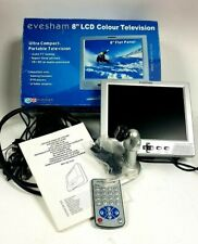 Evesham 8'' LCD TV Monitor Screen 8 inch Car / Caravan / CCTV / Gaming / DVD