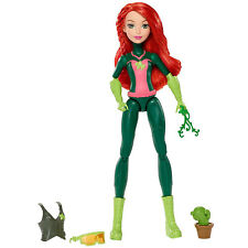 DC Super Hero Girls Poison Ivy Action Figure Doll with Mission Gear, 12-inch
