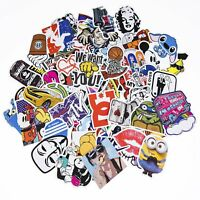 300 pcs Skateboard Stickers Graffiti Laptop Sticker Luggage Car Decals Mix Lot