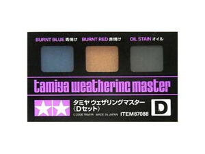 Tamiya Weathering Master Set D 87088