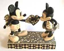 Jim Shore's Real Sweetheart Mickey& Minnie Disney Traditions Showcase #40029260