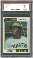 1974 Topps DAVE PARKER #252 RC Rookie ~ BSG 6
