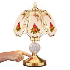 Cardinal Glass Shade Desk Touch Lamp