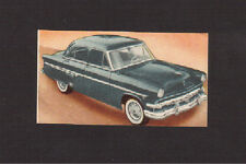 Ford Crestline 1954 Rare 1950s Automobile Car Spanish Collector Card #197