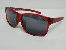 Puma PU 15130 RE Red Silver Mirror Ray Square PU15130 Sunglasses