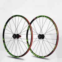 "Laufradsatz Mountainbike 26"" Alu Rim Sealed Lager Räder Wheelset Felgen~"