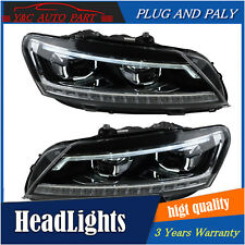 Headlights assembly For vw passat b7 2011-2015 Bi-xenon Lens Projector LED DRL