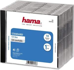 Various Hama CD/DVD Cases - Job Lot Of 30 Cases